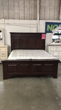 A-America Kalispell King Bed, NO MATTRESS Austin, 78724