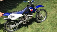 blue and white Yamaha motocross dirt bike Silver Spring, 20906