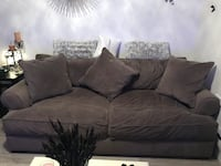 Beautiful Grey suede couch and love seat Surrey, V3X 1N2