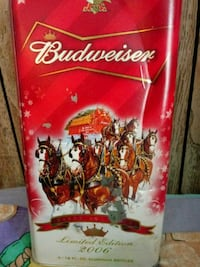 Limited edition holliday budweiser Front Royal, 22630