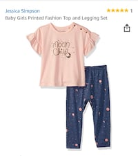 2 pc. Baby girl outfit Set Pineville, 28134
