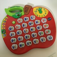 blue and green VTech apple learning toy Bakersfield, 93311