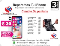 Reparar tu iPhone en Madrid a Domicilio Madrid