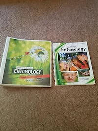 Entomology text book and investigations book Severn, 21144