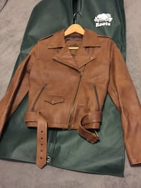 Roots leather jacket  Toronto, M4S 1A1