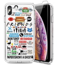 Brand New in Box iPhone X Case with Screen Protector,iPhone Xs Case,Cu