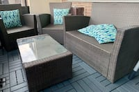4 piece outdoor patio seating Toronto, M9P 2S1