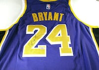 Kobe Bryant Autographed Game Issued Charity Jersey WOW! Full COA!