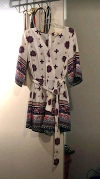 white, purple, and black floral cardigan Brownsville, 78521