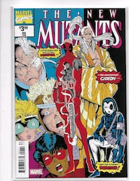 NEW MUTANTS 98 FASCILIMIE EDITION