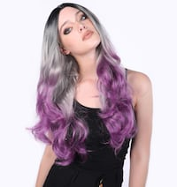 Ombre Woman's Costume Wig North Plainfield