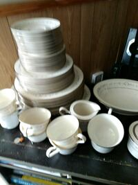 white ceramic plates and cups Dothan, 36301