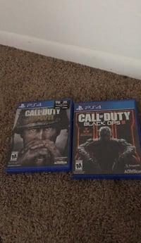 two Sony PS4 game cases Frederick, 21702