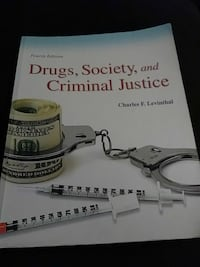 Drugs, Society and Criminal Justice by Charles F. Levinthal book