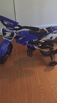 blue and black Yamaha motocross dirt bike Newport News, 23601