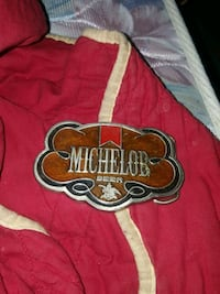 Michelob belt buckle has a number stamped on back Crossville