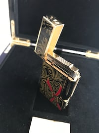 S.T. Dupont Opus X Fuente 20th Anniversary Black Limited Edition Line 2 Lighter - brand new New York, 10038