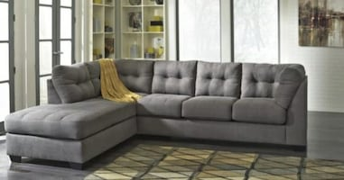 Brand New Sofa Sectional & Ottoman - Available Delivery
