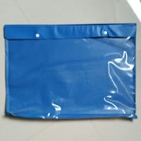 BN Blue Transparent Art Bag Choa Chu Kang