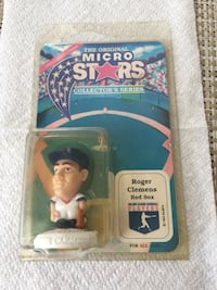 Roger Clemens Micro Stars figure Beverly, 01915
