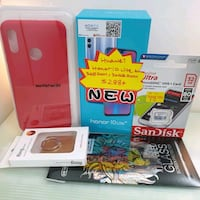 red and white Nintendo DS with box Singapore