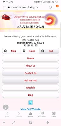 Driving and Road Test Service East Brunswick