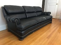 Leather couch and recliner set Brookline
