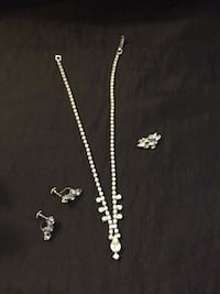 Vintage jewelry necklace ,earrings and pendent San Gabriel, 91776