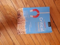 The Power of Critical Thinking book Toronto, M1M 3M9