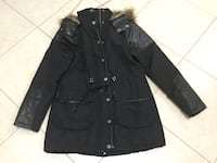 Black button-up jacket ladies small Vaughan