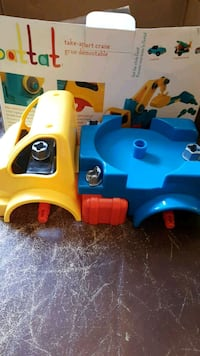 toddler's blue and yellow car toy Ajax, L1S 5H5