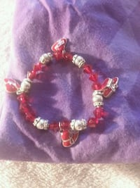 red and silver beaded bracelet North Las Vegas, 89032
