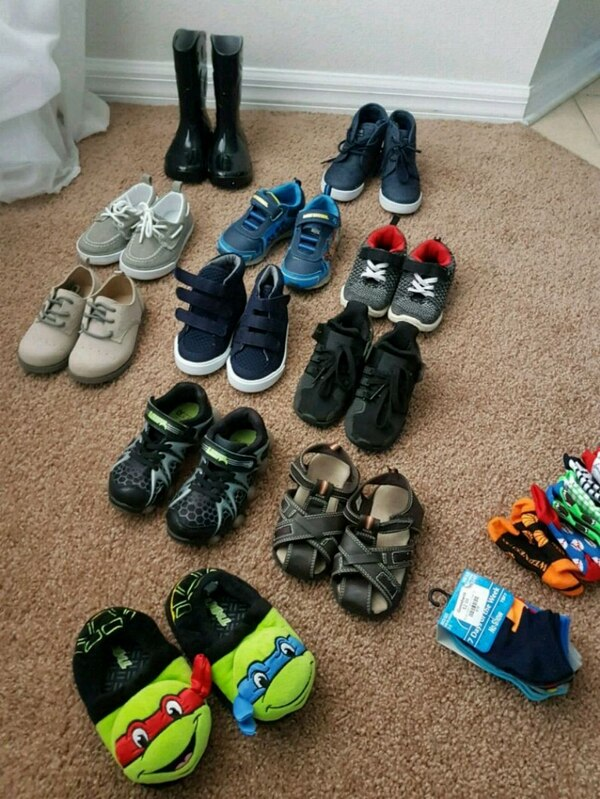 f25d2c908 Used toddler boys assorted footwear for sale in Valrico - letgo