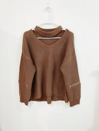 Brown Sweater With Collar Fairfax, 22030
