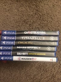 PS4 Games Bundle Brand New Factory Sealed Stone Mountain, 30083