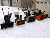 SNOWBLOWER LOT WITH PARTS