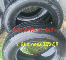 ⭐⭐⭐Used tires⭐⭐⭐