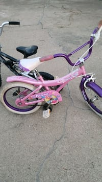 toddler's pink and white bicycle Edmonton, T5C 1Y1
