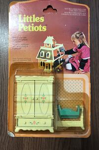 New VINTAGE 1980 Mattel The Littles Furniture- Collectable  Richmond, V6Y 2Z5