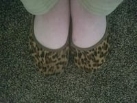 Leopard suede flats. Olympia, 98513