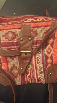 brown and orange leather crossbody bag Howell, 07731