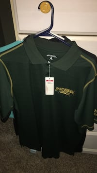 Size large polo shirt brand new tag still on it !