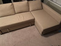 FRIHETEN sofa bed with storage Vancouver, V6B 0A2