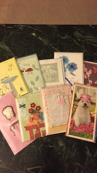 Assorted  printed cards Las Vegas, 89141