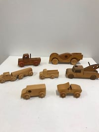 Wooden vintage , retro collectible cars