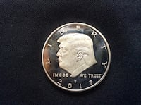 President Trump coin Cleveland, 44111