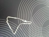 hvit og sort beaded halskjede 6119 km