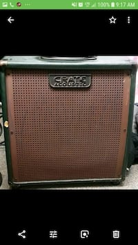 gray and black Crate guitar amplifier Annapolis, 21403