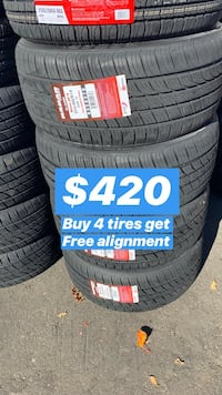 255/40R19 SET OF 4 TIRES ON SALE WE CARRY ALL MAJOR BRANDS AND SIZE  Danville, 94526