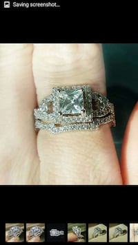 cz Engagement Ring / Band  Silver Spring, 20905